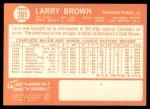 1964 Topps #301  Larry Brown  Back Thumbnail