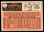 1966 Topps #516  Eddie Bressoud  Back Thumbnail