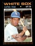 1971 Topps #243  Carlos May  Front Thumbnail