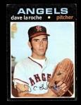 1971 Topps #174  Dave LaRoche  Front Thumbnail