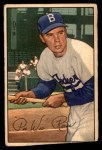 1952 Bowman #8  Pee Wee Reese  Front Thumbnail