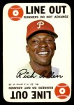 1968 Topps Game #23  Rich Allen  Front Thumbnail