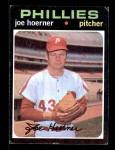 1971 Topps #166  Joe Hoerner  Front Thumbnail