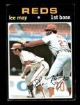 1971 Topps #40  Lee May  Front Thumbnail
