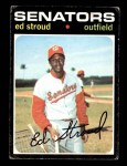 1971 Topps #217  Ed Stroud  Front Thumbnail