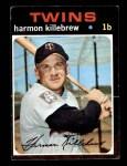 1971 Topps #550  Harmon Killebrew  Front Thumbnail