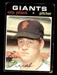1971 Topps #19  Skip Pitlock  Front Thumbnail