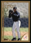1999 Topps #445   -  Roger Clemens Strikeout Kings Front Thumbnail