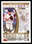 1999 Topps #446   -  Kerry Wood Strikeout Kings Back Thumbnail