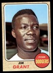 1968 Topps #398  Mudcat Grant  Front Thumbnail