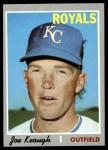 1970 Topps #589  Joe Keough  Front Thumbnail
