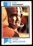 1973 Topps #79  Don Cockroft  Front Thumbnail