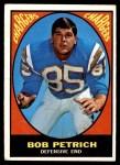 1967 Topps #126  Bob Petrich  Front Thumbnail