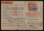 1957 Topps   CC1 Contest Card May 4th -   Back Thumbnail