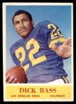 1964 Philadelphia #87  Dick Bass     Front Thumbnail