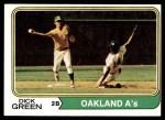 1974 Topps #392  Dick Green  Front Thumbnail