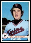 1979 Topps #162  Tom Johnson  Front Thumbnail
