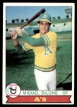 1979 Topps #487  Miguel Dilone  Front Thumbnail