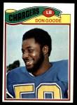 1977 Topps #97  Don Goode  Front Thumbnail