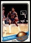1979 Topps #48  Ray Williams  Front Thumbnail