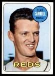 1969 Topps #26  Clay Carroll  Front Thumbnail
