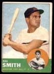 1963 Topps #153  Hal W. Smith  Front Thumbnail