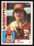 1984 Topps #554  Ted Power  Front Thumbnail