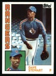 1984 Topps #352  Dave Stewart  Front Thumbnail