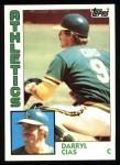 1984 Topps #159  Darryl Cias  Front Thumbnail