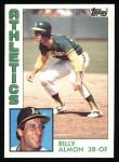 1984 Topps #241  Bill Almon  Front Thumbnail