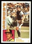 1984 Topps #753  Doug Gwosdz  Front Thumbnail