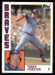 1984 Topps #791  Terry Forster  Front Thumbnail
