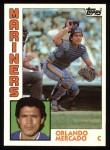 1984 Topps #314  Orlando Mercado  Front Thumbnail