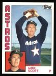 1984 Topps #559  Mike Scott  Front Thumbnail