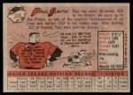 1958 Topps #269  Paul Smith  Back Thumbnail