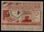 1958 Topps #270  Warren Spahn  Back Thumbnail