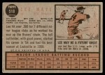 1962 Topps #518  Lee Maye  Back Thumbnail