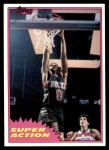 1981 Topps #108 MW  -  Marques Johnson Super Action Front Thumbnail