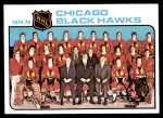 1975 Topps #84   Blackhawks Team Checklist Front Thumbnail