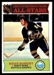 1975 Topps #296   -  Rene Robert  Second Team All-Stars Front Thumbnail