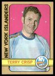 1972 Topps #103  Terry Crisp  Front Thumbnail