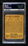 1940 Play Ball #209  Hy Vandenberg  Back Thumbnail