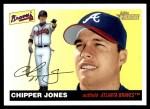 2004 Topps Heritage #40 PT Chipper Jones  Front Thumbnail