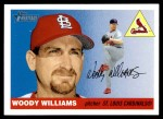 2004 Topps Heritage #81  Woody Williams  Front Thumbnail