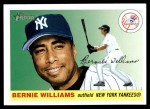 2004 Topps Heritage #17  Bernie Williams  Front Thumbnail