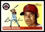 2004 Topps Heritage #24  Bengie Molina  Front Thumbnail