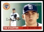 2004 Topps Heritage #175  Tim Stauffer  Front Thumbnail