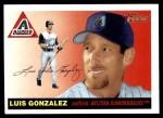 2004 Topps Heritage #56  Luis Gonzalez  Front Thumbnail