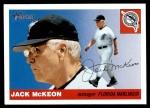 2004 Topps Heritage #130  Jack McKeon  Front Thumbnail