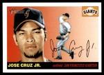 2004 Topps Heritage #307  Jose Cruz Jr.  Front Thumbnail